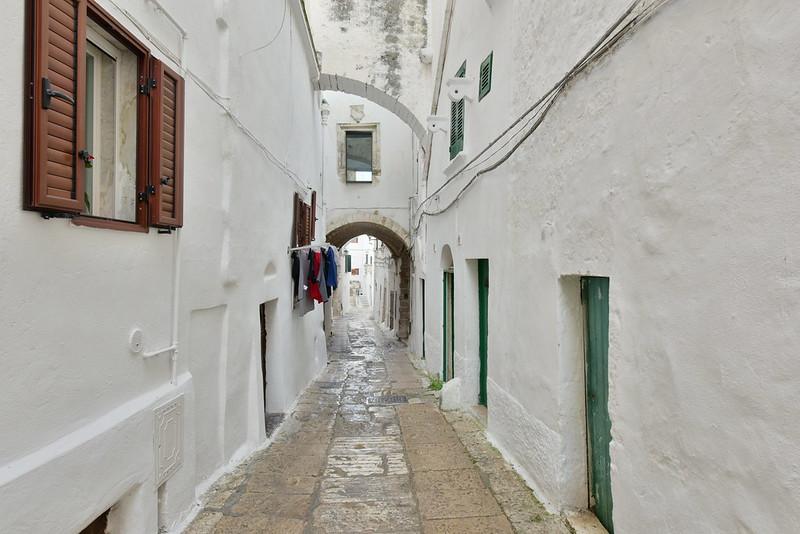 Puglia látnivalói - Ostuni a fehér város