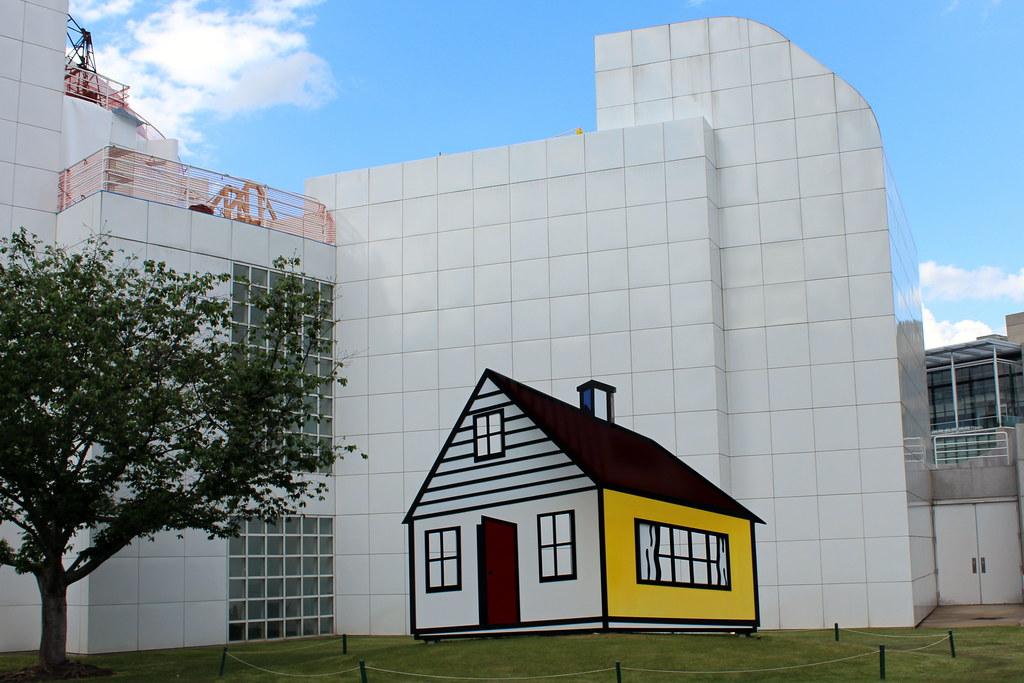 Atlanta - Midtown: High Museum - Roy Lichtenstein\'s House … | Flickr