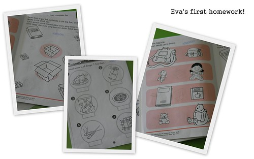 Eva's first homework! | by meiteoh