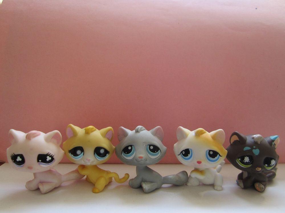 Lot 5 Littlest Petshop Pet Shop Lps Cat Chat Goutiere 896 Flickr