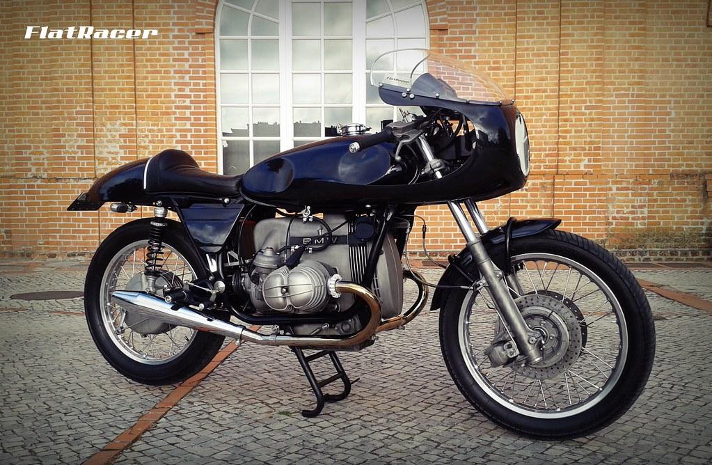 ... FlatRacer BMW R100 RT 1979 The Blaxer Cafe Racer - RH side | by FlatRacer