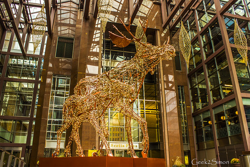 2016 Christmas Moose (Toronto) | by geek2simon