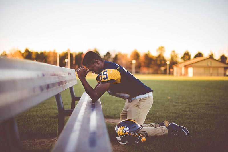 Praying Player - Credit to https://homethods.com/