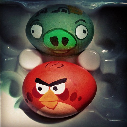 98/365: Angry Eggs | by courtneyp