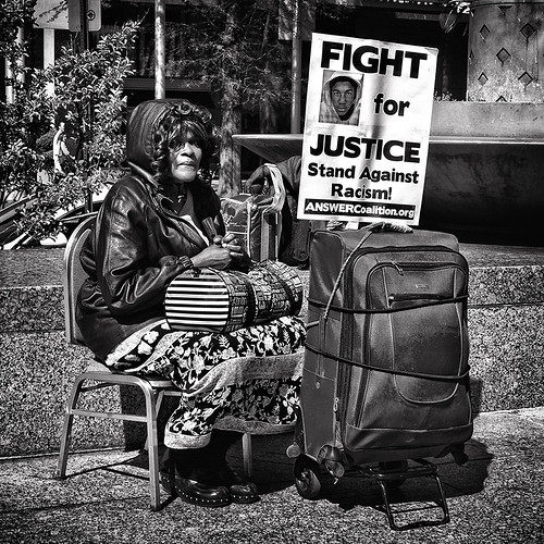 "The People's Nonviolent Struggle For Justice, ""Trayvon Martin & The Stand Against Racism"", Occupy DC, Freedom Plaza, Washington, DC 