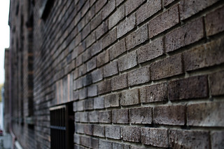 Brick wall of Osaka Club Bldg. | by hyossie