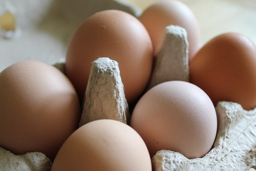More home-grown eggs