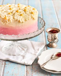 Strawberry Ombre Cake Recipe
