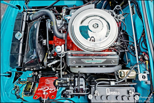 Under The Hood Of A 1956 T-Bird | by Mark Turnauckas