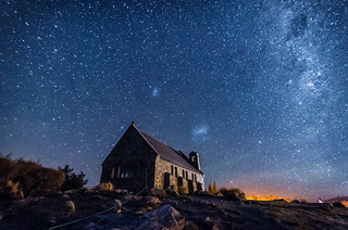 Milky Way by the Church of the Good Shepherd | by Zeen.