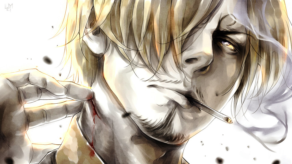 One Piece Sanji Wallpaper 1440x900 1366x768