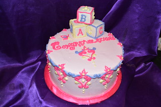 Baby shower | by How Sweet It Is Cakes