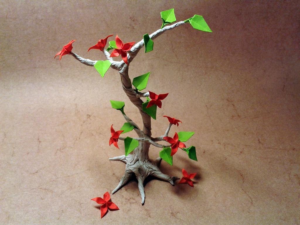 Origami Bonsai Yaroslav Mischenko Flickr