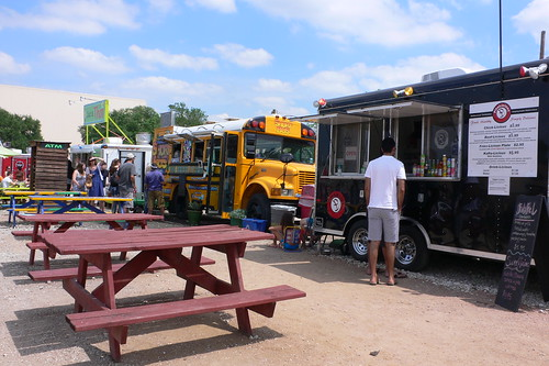 Food Trailers on South Congress, Austin | by heatheronhertravels