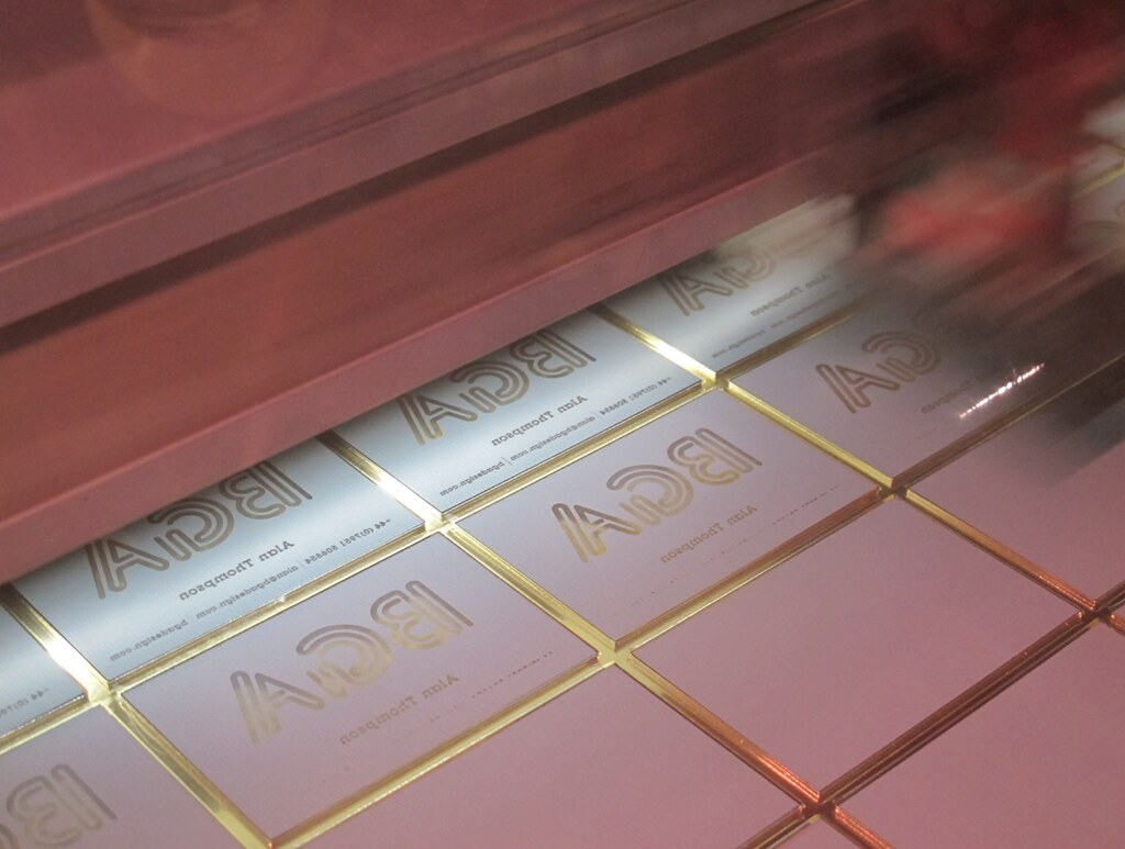 laser engraved business cards by cutlasercutcom - Engraved Business Cards