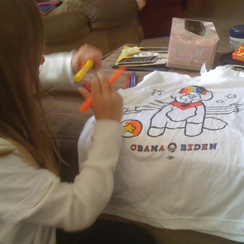 Why yes,this is how we color in this house #obama2012 | by QueenofSpainErin