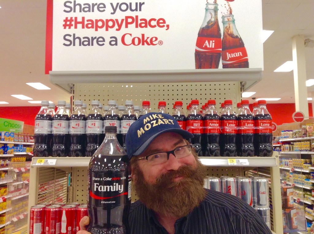 Share A Coke, Coca Cola Target Displays, 5/2015, by Mike M… | Flickr