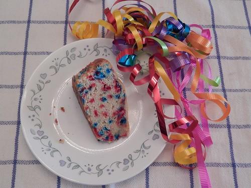 Awful confetti cake