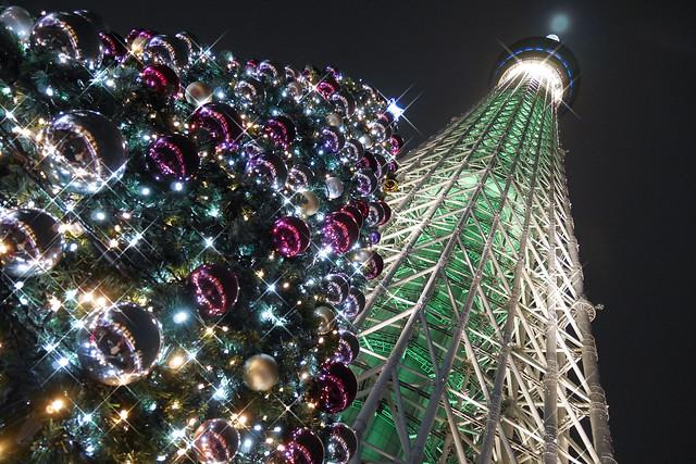 東京スカイツリータウン イルミネーション 2016