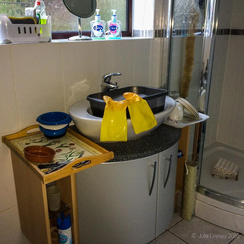 Washing up station
