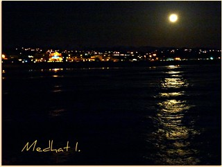 "Coastal Views! P1080552 ""Pacific Full Moon Reflections!"" [EXPLORED, April 7, 2012] 