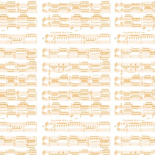 4-tangerine_BRIGHT_GraphicsFairy_sheet_music_12_and_a_half_inches_SQ_350dpi_melstampz | by melstampz