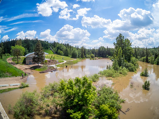 Whitemud Park Flooded | by Kurayba