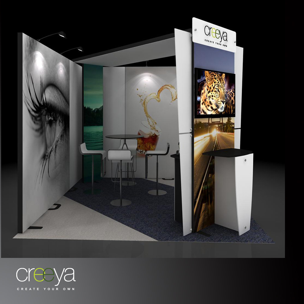Exhibition Stall Design 3x3 : Booth design bansuan