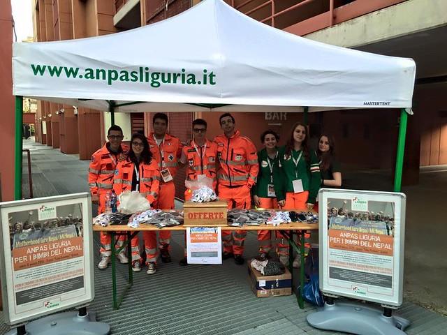 I giovani di Anpas Liguria per il Nepal
