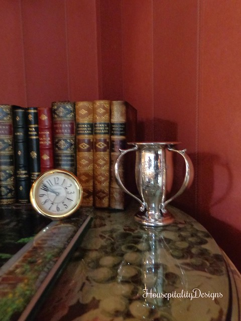 Antique trophy - Antique Books - The Charlotte Inn - Housepitality Designs