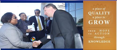 Nosizwe Nokwe PetroSA CEO meeting SAIAMC director Prof Vla…   Flickr