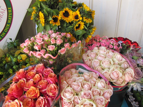 Fresh cut flowers at the Monterey Bay Greenhouse Growers Open House | by SeeMonterey