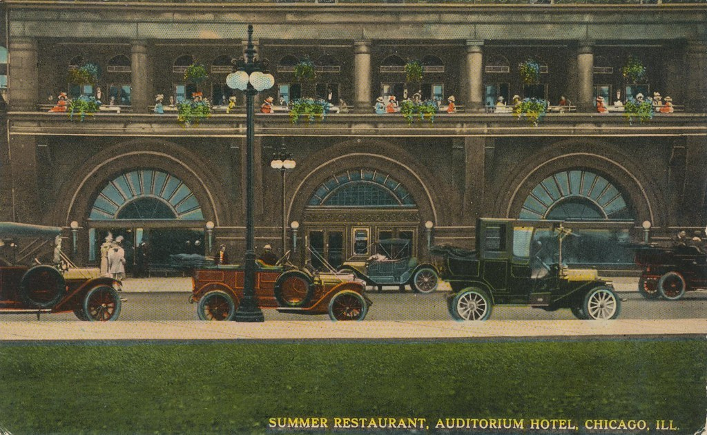 Auditorium Hotel Summer Restaurant - Chicago, Illinois