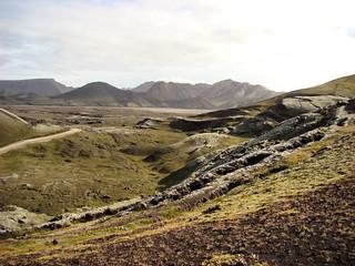 101 Korte tussenstop bij Frostastaða-vatn