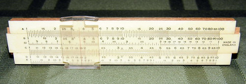 Vintage Small Slide Rule, 4.75 Inches in Length, Made in England | by France1978