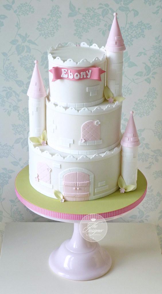 Castle Birthday Cake Isabelle Bambridge Flickr
