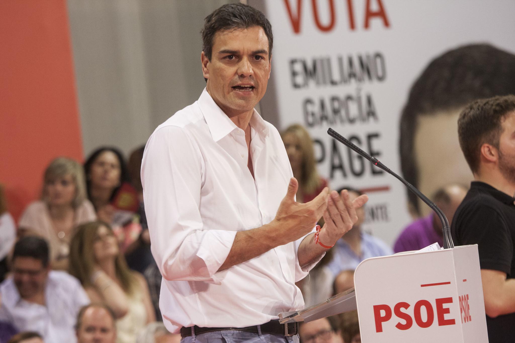Pedro Sánchez: haced lo que yo haga pero no lo que yo os diga