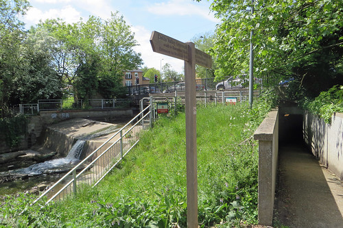 Hendon Lane Weir | by diamond geezer