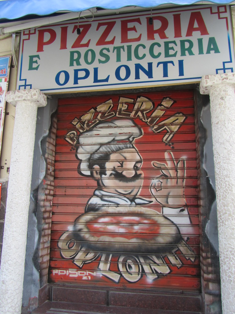 Italy - Campania - Torre Annunziata - Mural on pizza outle… | Flickr