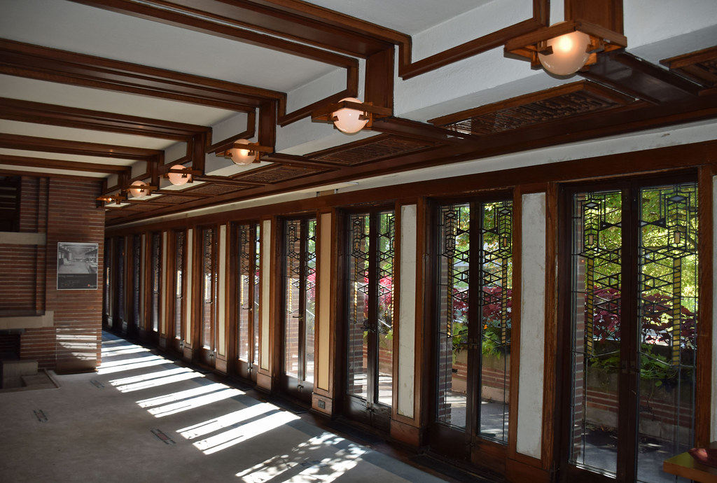 Exceptionnel ... Robie House (1910) Interior, By Frank Lloyd Wright | By Ihynz7