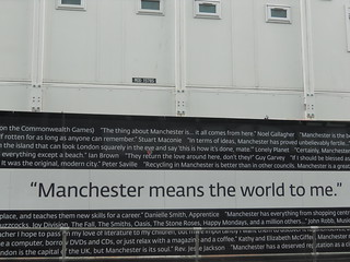"""Manchester means the world to me"" 
