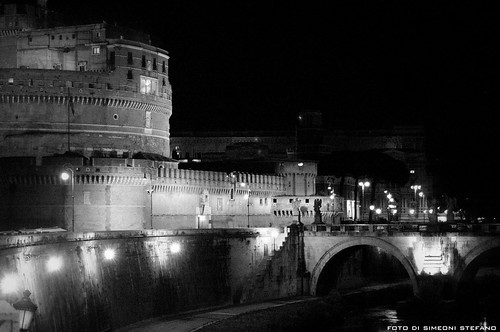 roma - castel s.angelo di notte | by SIMEONI STEFANO + 500000 views