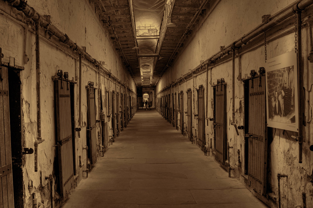 ... Hall of Doors | by sandyhd & Hall of Doors | Eastern State Penitentiary was once the most\u2026 | Flickr
