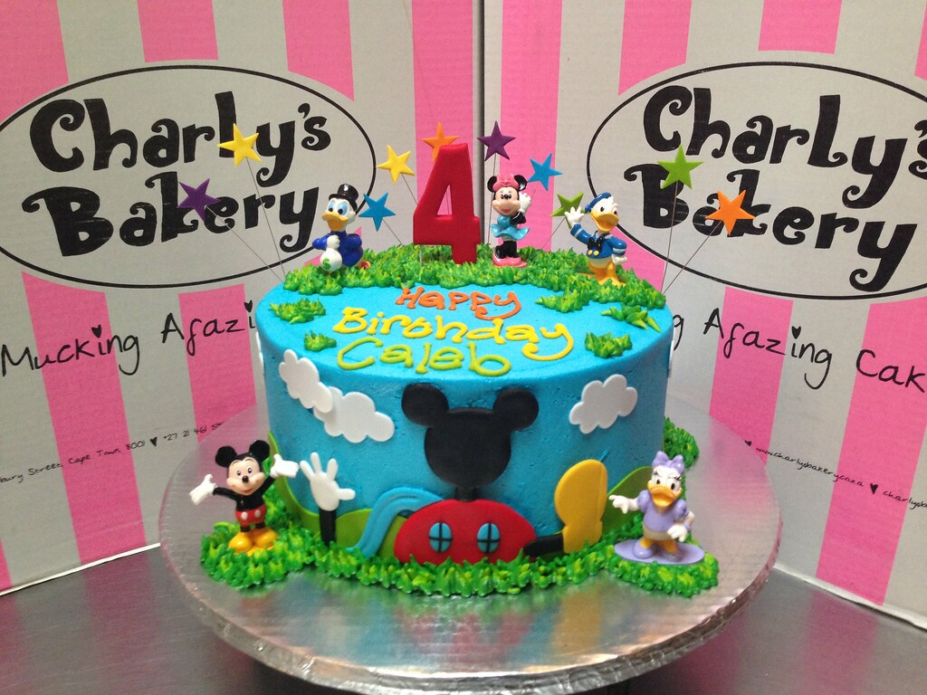 Mickey Mouse Clubhouse Friends Themed 4th Birthday Cake Flickr