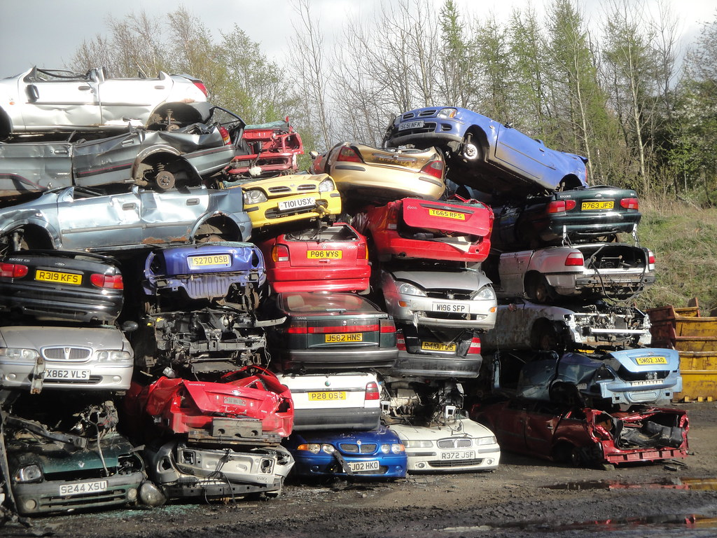 Scrap cars | Alan Gold | Flickr