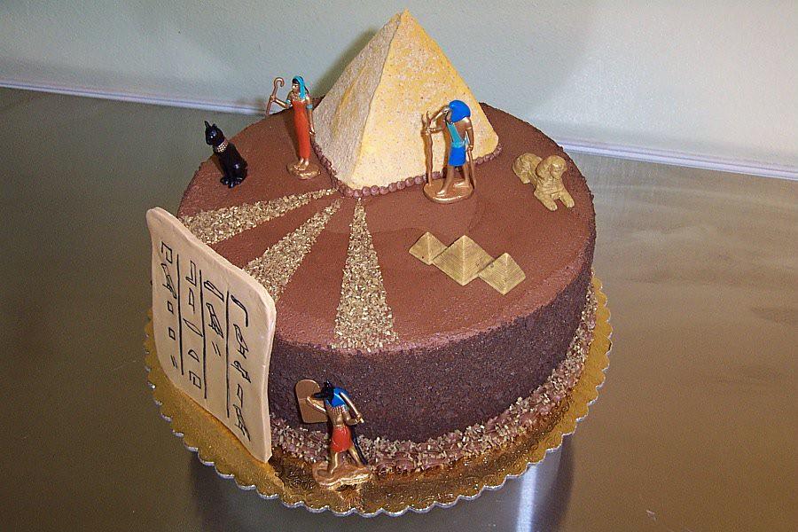 Egypt Birthday Cake Dchenicek Flickr