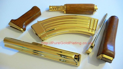 Gold Plated AK47 Parts | by PureGoldPlating