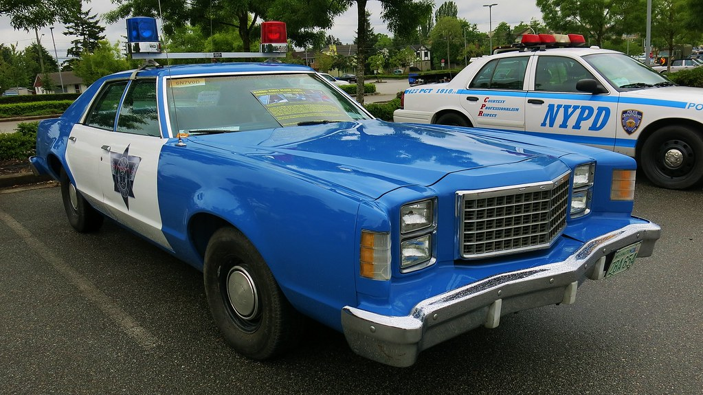1979 Ford LTD II Police Car / Sheriff Teasle\'s car, from t… | Flickr