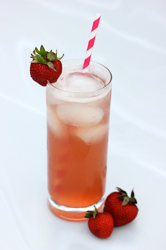 Strawberry Honey Simple Syrup - Gluten-free + Refined Sugar-free