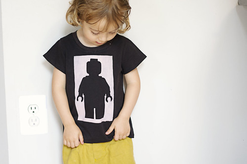 Black minifig on a black shirt | by Girl Like The Sea